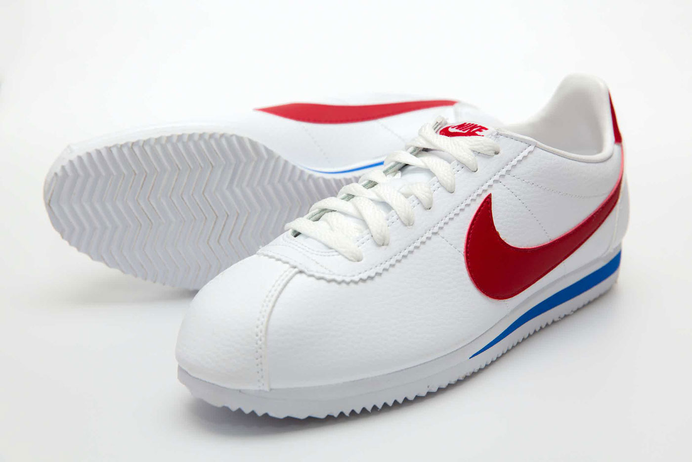 History of Sneakers - The Cortez is Nike's original running shoe, designed by co-founder Bill Bowerman and released in 1972.