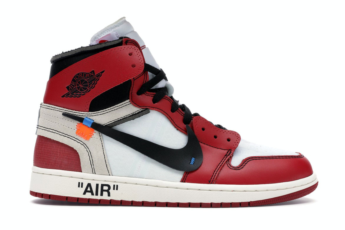 History of Sneakers - Jordan 1 Retro High Off-White Chicago.